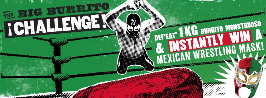 Mad Mex Burrito Challenge