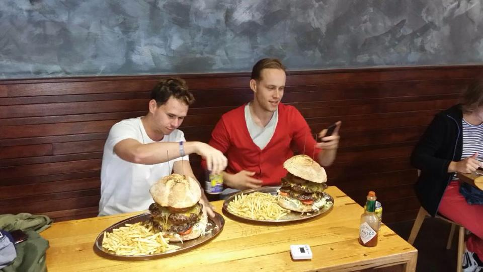 What The Hell Burger Challenge